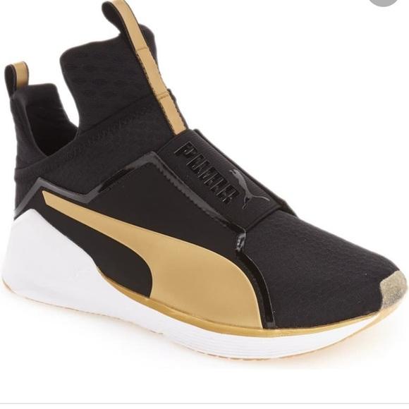 Puma Shoes | Fierce Gold Sneaker
